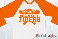 Baseball SVG Template 0010, svg cut file | Shirt Design Product Image 2
