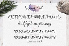 Summer Rock. Font duo Product Image 6