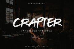 Crafter Handbrush Typeface Product Image 1