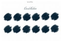 Moon Phases and ConstellatiDigital art High quality clipart Product Image 2