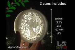 3D angel Christmas bauble