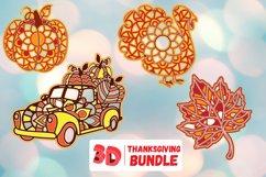 3D Layered SVG Bundle | Megabundle | Mandala Product Image 4