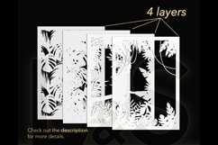 3D tropical shadowbox layers