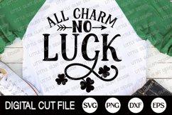 St Patricks Day Svg, Shamrock Svg, Lucky Dxf, Clover Shirt Product Image 3