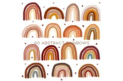 60 Abstract rainbows clipart Product Image 4