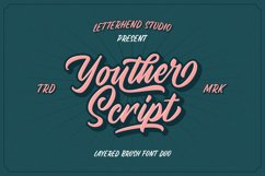 Youther Script - Layered Font Duo Product Image 2
