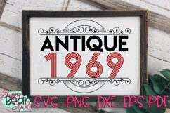 Antique 1950 - 1989 - An Antique Styled Cut File Product Image 2