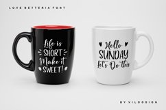 Love Betteria a Lovely Font Duo Product Image 4