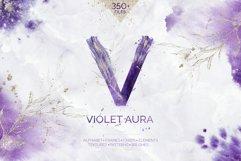 Violet Aura - watercolor design kit Product Image 1