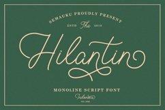 Hilantin - Monoline Font Product Image 1