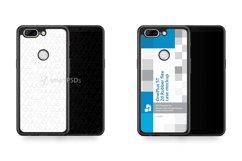 OnePlus 5T 2d RubberFlex Case Design Mockup 2017 Product Image 1