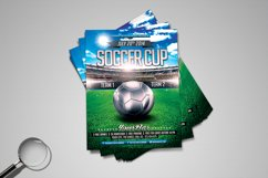 Soccer Cup | Modern Flyer Template Product Image 8