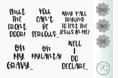 Southern Sayings Bundle SVG PNG DXF Product Image 1
