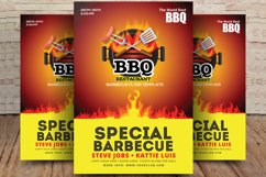 Special BBQ Restaurant Flyer Product Image 1
