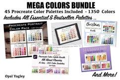 Procreate Color Palette Bundle -MEGA Pack 1350 Colors Product Image 5