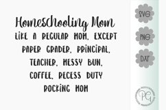 Homeschooling Mom SVG PNG DXF Product Image 2