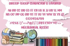 Droop Sheep - Crafty Font Layered Product Image 4