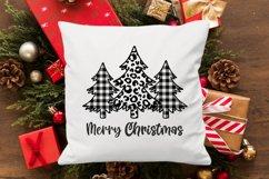 Buffalo plaid christmas tree svg Christmas designs Leopard Product Image 2