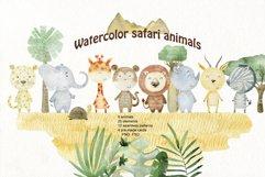 Savannah. Watercolor animals. Product Image 1