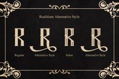 Web Font Realitium Font Product Image 3