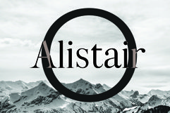 ALISTAIR FONT, A modern Serif Product Image 2