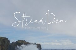 StreamPen Font Product Image 1