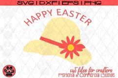 Happy Easter Bonnet | SVG Cut File Product Image 2