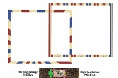Patriotic July 4th Frames for Dye Sublimation Product Image 2