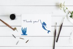 Watercolour sea life Ocean animals Product Image 3