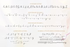 Sweetheart Lovely Calligraphy Font Product Image 4