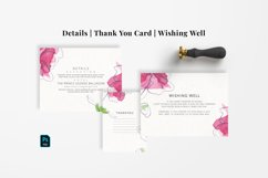Abstract Flower Wedding Suite Product Image 5