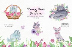 Funny Cats & Bouquets Product Image 6