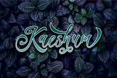 Kaeshum Script - BOLD Product Image 1