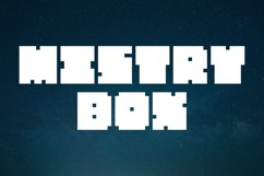 Mistry Box - Boldest Display Font Product Image 1