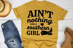 Ain't Nothing Like A Southern Girl SVG Southern Farm Girl Product Image 1