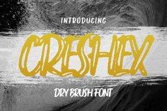 Creshex Dry Brush Font Product Image 1