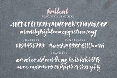 Baikal Handwritten Font with bonus Product Image 4