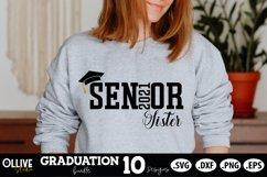 Senior Graduation 2021 Family Bundle SVG   Graduation SVG Product Image 3