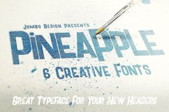 Pineapple - Funny Style Font Product Image 3