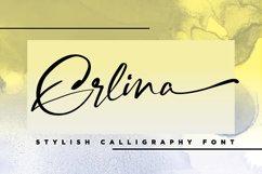 Erlina. Stylish Calligraphy Font Product Image 1
