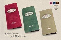 Italian Trattoria Menu & Logo Product Image 3