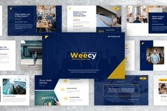 Weecy - Business Keynote Presentation Templates Product Image 1