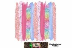 Easter Spring Brush Stroke Background Dye Sublimation Product Image 1