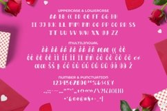 Web Font LOVEYOU Font Product Image 2