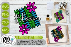 Spring Sign and Garden Flag Bundle - A Set of Layered SVGs Product Image 6