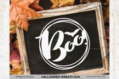 Halloween wreath SVG Set, Pumpkin Thanksgiving SVG Product Image 4