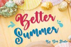 Better Summer Script Product Image 1