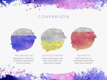 Watercolor Keynote Template Product Image 4