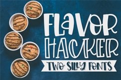 Flavor Hacker - A Hand Lettered Type Duo! Product Image 1