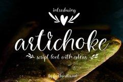 Artichoke Script Font Product Image 1